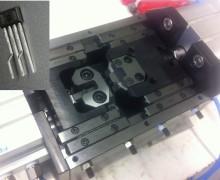 Werkzeug zur Bearbeitung der Bauteilanschlüsse
